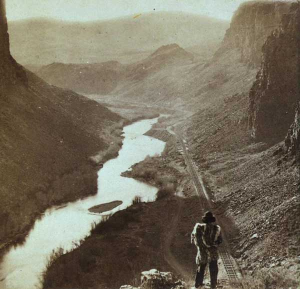 Native American- transcontinental rr 1868